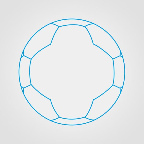 26 Panel Miniball Ball Sketch