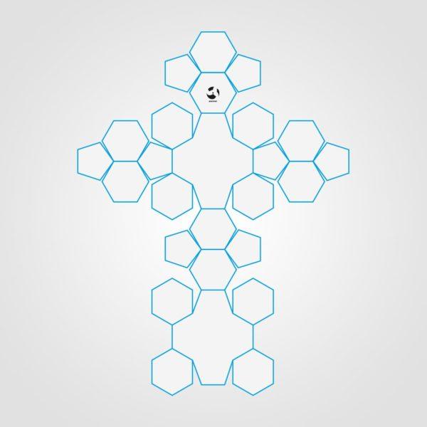 26 Panel Miniball Open Sketch