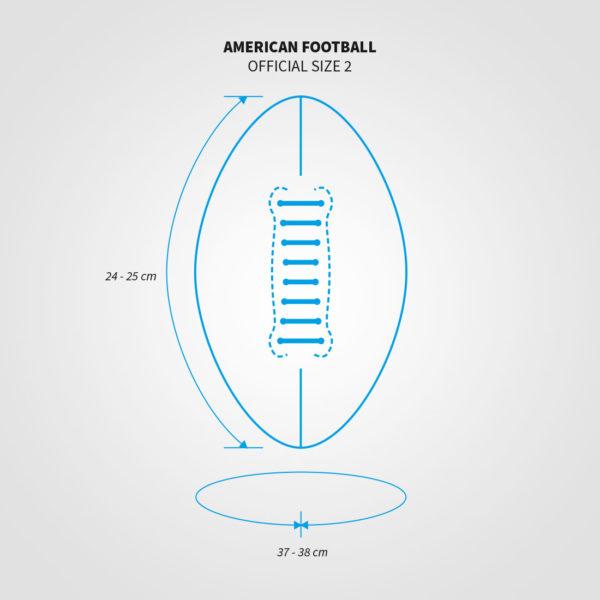 Sizechart_American Football Size 2